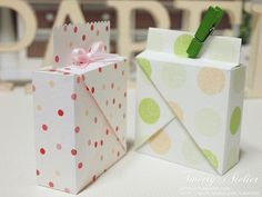 [Gift wrapping gift boxes are made without glue .. did make folding box design -: Naver blog