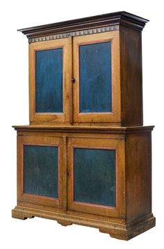View this item and discover similar for sale at - We are pleased to offer you this fine quality painted cabinet from Sweden, circa We purchased this cabinet in the Dalsland region where it had been Country Cupboard, Modern Cabinets, Painting Cabinets, Double Doors, Solid Oak, Scandinavian, 19th Century, Antiques, Antique Dressers