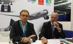 Bourget : Alain Rousset : « il faut aider nos PME aquitaines à grandir »