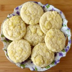 Soft and chewy lemon cookies from scratch. They're almost like a lemon snickerdoodle... a lemondoodle!