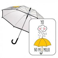 """Paraguas maggy """" Lloviendo con paraguas no me mojo"""" Este artículo lo encontrará en nuestra tienda on line de complementos www.worldmagic.es info@worldmagic.es 951381126 Para lo que necesites a su disposición"""