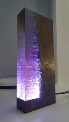 Made a wenge and purple resin lamp for my 12 final project https://ift.tt/2Lt2FPE