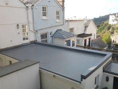 Single ply roofing - Fowey