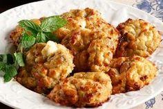Λαχταριστοί Μελιτζανοκροκέτες Appetizer Recipes, Keto Recipes, Appetizers, Cetogenic Diet, Tandoori Chicken, Cauliflower, Meat, Vegetables, Cooking