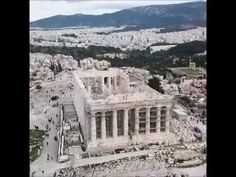 Flying over 2500 years of history Hellas 🇬🇷 Acropolis, Paris Skyline, Around The Worlds, History, Travel, Outdoor, Outdoors, Historia, Viajes