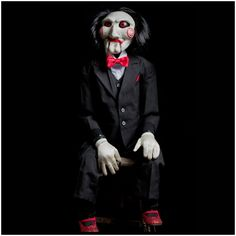 Official Saw Billy Puppet Prop by Trick or Treat Studios. A collectors quality Horror prop from the UK's leading Halloween and Horror specialist.