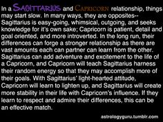 The Astrology Guru - Sagittarius compatibility with Capricorn