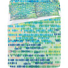 Khristian A Howell Bangalore Cool Sheet Set #pink #blue #green #color #home #decor #unique