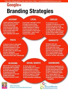 60 idées et conseils sur Google+ pour les Entreprises #infographie #référencement