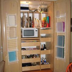 Closet pantry design. www.kitchendesignbyjoanne.com