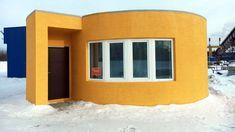 Une maison de 38m² à 9500€ imprimée en 3D et en moins de 24h #Innovation - Apis cor est une société russe qui a développé une imprimante 3D capable de modeler une maison de 38m² en 24 heures. Une prouesse dans le monde de la construction.