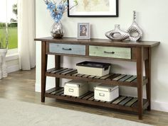 Molinda Transitional Sofa Table