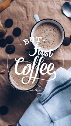 New whatsapp wallpaper autumn ideas But First Coffee, I Love Coffee, Coffee Break, My Coffee, Coffee Mugs, Drink Coffee, Coffee Wallpaper Iphone, Fall Wallpaper, Wallpaper Ideas