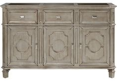Belle Terra Silver Sideboard . $599.99. 58W x 18D x 36H. Find affordable Servers for your home that will complement the rest of your furniture.