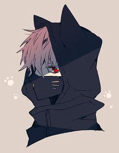 M neko boy Anime Neko, Kawaii Anime, Manga Anime, Manga Boy, Anime Boys, Cool Anime Guys, Hot Anime Boy, Anime Cat Boy, Dark Anime Guys