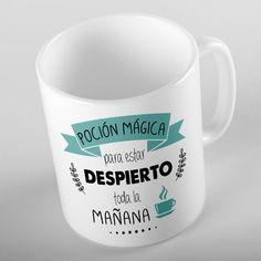 """#Taza #Personalizada con diseño y frase molona  """" Poción mágica para estar…"""