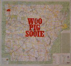 Woo Pig Sooie #Arkansas Razorback