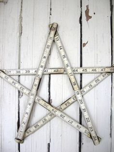 pinterest stick star | Measuring stick folding star | Quilts