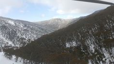 Mt hotham view from chair lift