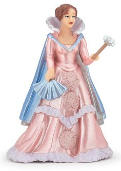 Buy the Papo Queen of Fairies Pink figure at MiniZoo for high quality figurines from the best brands at the most competitive prices online. Immortelle, Fairy Figurines, Fantasy World, Best Brand, Rose, Cinderella, Fashion Dresses, Hand Painted, Queen