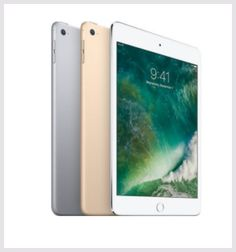 Apple iPad mini 4 128GB Wi-Fi iPad mini 4 has a gorgeous 7.9-inch Retina display, yet it's only 6.1mm thin and weighs just 0.65 pounds, making it small enough to hold in one hand. It has a powerful A8 chip with 64-bit desktop-class architecture, advanced iSight and FaceTime HD cameras, Wi-Fi and LTEconnectivity, iCloud, the breakthrough Touch ID fingerprint sensor, and up to 10 hours of battery life.2 It also includes great apps for productivity and creativity.