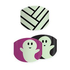 TRICK OR TREAT - $15 Light up your little's fingertips with these adorable GLOW-IN-THE-DARK 'Trick or Treat' wraps. A friendly ghost is the perfect thing to keep the scary ghouls and goblins away! Currently available in US and Canada only. Coming soon to Australia and New Zealand. #TrickOrTreatJN