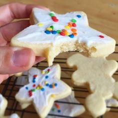 Food, Crafts & Reviews: Cream Cheese Sugar Cookie Recipe