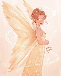 Disney Princess Drawings, Disney Princess Art, Disney Fan Art, Disney Love, Cartoon Girl Drawing, Disney Fairies, Arte Disney, Beautiful Fantasy Art, Disney And Dreamworks