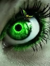 Green! Favorite eye color...
