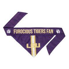 LSU Tigers Pet Bandanna Size M