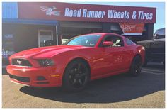 "22"" Staggered Ruff R1 22x9 front 22x10.5 rears. #ruffracing  #roadrunnerwheels #rimfinancing  Please share or like post. Thank you. http://ift.tt/2qbgyHP"