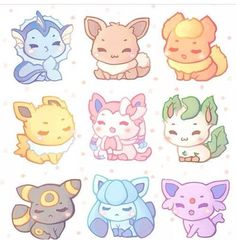 Hottest tags for this image embrace: pokemon, kawaii, eeveelutions and cute Gif Pokemon, Pokemon Eeveelutions, Baby Pokemon, Pokemon Tattoo, Pokemon Charizard, Nintendo Pokemon, Pokemon Birthday, Doodles Kawaii, Cute Doodles