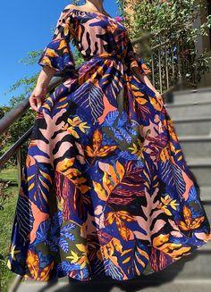 Rochie lunga cu motive florale - Odette 4 | #ietraditionala #instafasion #romania  #rochie