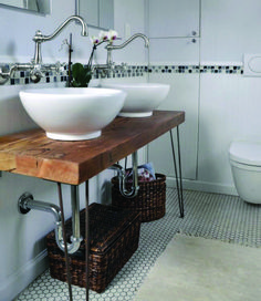 Find the excellent bathroom sink to fit your needs as well as match your bathroom decor. From vessel sinks to a modern sink, we offer the current styles. Bathroom Vanity Decor, Small Bathroom Vanities, Diy Vanity, Wood Bathroom, Modern Bathroom, Vanity Ideas, Bathroom Ideas, Modern Sink, Master Bathrooms