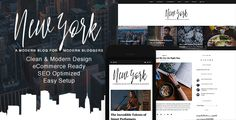 New York - WordPress Blog & Shop Theme (Personal) - http://wpskull.com/new-york-wordpress-blog-shop-theme-personal/wordpress-offers