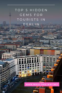 For tourists, there are thousands of attractions in Berlin to put on your list of 'things to do'! However, I want to share my top 5 hidden gems for tourists in Berlin. From Cold War relics to the best views over Berlin and local and charming book shops, it's all here. Continue reading to discover your next favourite areas and hidden gems in Berlin! #discoverBerlin #Berlinattractions #PanoramapunktBerlin