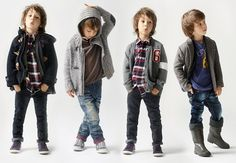 i know some little boys who would look super in these clothes :)
