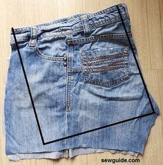 Denim Bags From Jeans, Artisanats Denim, Diy Old Jeans, Denim Tote Bags, Diy Denim Purse, Diy Purse From Jeans, Denim Shorts, Diy With Jeans, Diy Bags Jeans