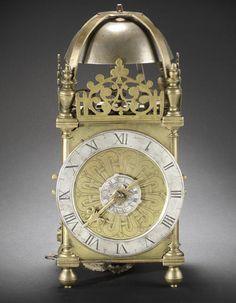 A rare early 17th century lantern clock Unsigned