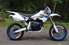 Honda XR650R Supermoto