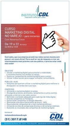 Curso de Marketing Digital no Varejo