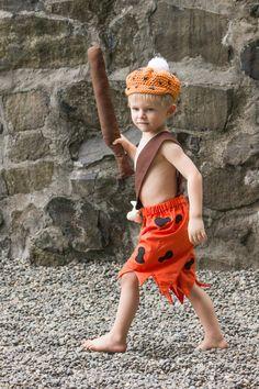 Bam Bam Costume, Boys costume, halloween Costume, Dress up, Flinstone Costume, Flinstone, Family Costumes