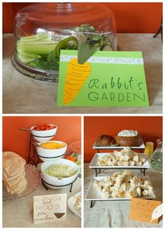 Food for Winnie the Pooh Baby Shower