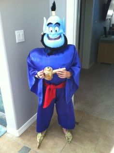 Easy homemade Genie costume