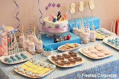 Fiesta de cumpleaños infantil de los barbapapas