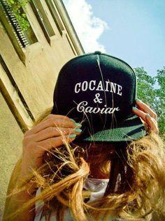Cocaine & Cavior Cap