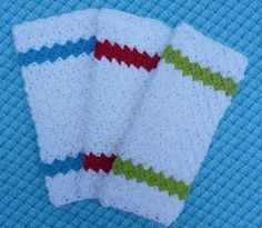 Dishcloth has a nice texture, making it great for washing dishes.
