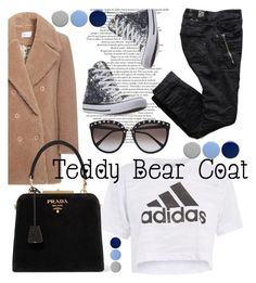 """""""Teddy bear coat"""" by mildredsunrise on Polyvore featuring Carven, Topshop, Prada, Converse and Burberry"""