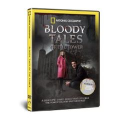 Nat Geo's Bloody Tales of the Tower DVD, out Oct 15. The terrible cries of tortured traitors have given the Tower of London a particularly grisly place in England's history. Brave a trip to the infamous Tower with investigator Joe Crowley and Tudor historian Dr Suzannah Lipscomb.