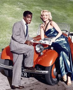 Sammy Davis Jr. & Marilyn Monroe